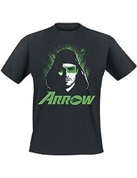 Arrow Face T-Shirt schwarz