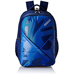 American Tourister 36 Ltrs Blue Casual Backpack (AMT BOOM BACKPACK 03 - BLUE)