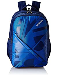 American Tourister 27 Ltrs Blue Casual Backpack (AMT BOOM BACKPACK 03 - BLUE)