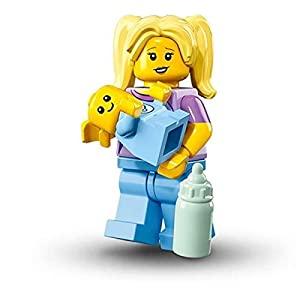 Lego Serie Minifigures 16 - BABYSITTER Figure mini Insaccato) 71013 0607128435907 LEGO