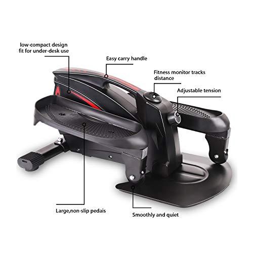 LOVEQIZI Mini Ellipsentrainer – Under Desk Bike Bild 4*