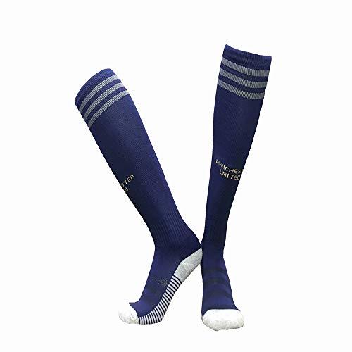 LDQLSQ Kindersocken Schüler neuen Club Slip Outdoor Football Socks Gruppe kaufen Lange Tube über die Knie Sports Training Socks Jugend Fußball-Socken Outdoor Sport,Purple