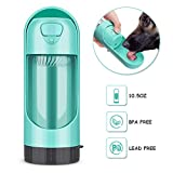 YOUTHINK Dispenser Automatico d'Acqua per Animali Domestici, Adatto per Cani (Verde)