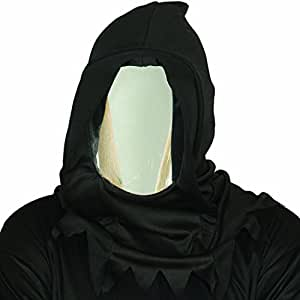 Reflecting Phantom masquerade Mirror mask with hood Carnival face costume anonymous death outfit accessory Halloween facial disguise reflection Horror party grim Reaper
