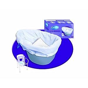 Care Bag Einweg-Beutel für Nachttopf (biologisch abbaubar) 20Stück