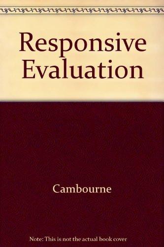 Responsive Evaluation