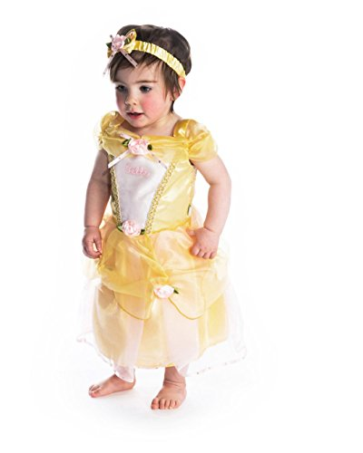 Amscan DCPRBE18 - Princess Dress, Belle, gelb