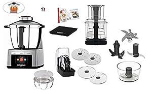 magimix robot cuisine cook expert de cuisson multifonction chrome satin cuisine. Black Bedroom Furniture Sets. Home Design Ideas