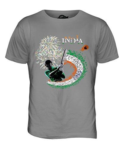 CandyMix Indien Cricket Herren T Shirt Hellgrau