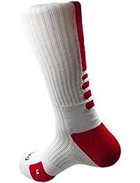 ZENUTA Nuevo Estilo Calcetín de Bicicletas Al Aire Libre Transpirable calcetines de baloncesto Fútbol Caminar Correr Tenis Deportes Calcetines