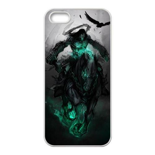 Darksiders coque iPhone 4 4S Housse Blanc téléphone portable couverture de cas coque EBDXJKNBO15086