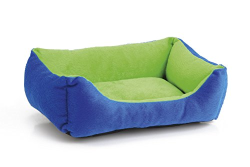 beeztees-plush-rest-bed-for-rodents-blue-green-33-cm-length-x-22-cm-width-x-8-cm-height