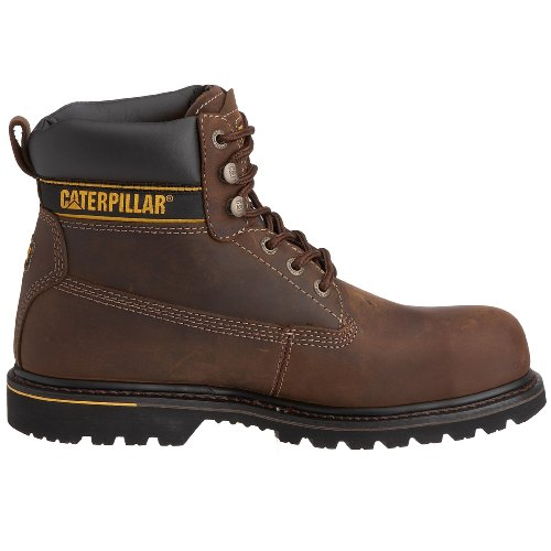 Caterpillar Marrone Dark Brown Uomo Holton Stivali wg4UH