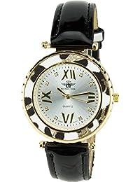 MICHAEL JOHN - Reloj Mujer Plata Cuarzo Acero pantalla analógica Elegante Deporte Modo Pulsera ...