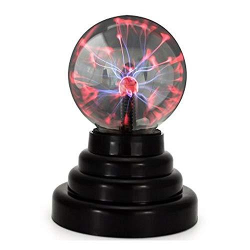 Lampe de chambre à coucher décorative LED pas cher, verre boule de plasma magique lune bébé nuit lumière 3 pouces instrument de la terre lampe de lave fournir USB ou AAA batterie intérieur lampe paysa