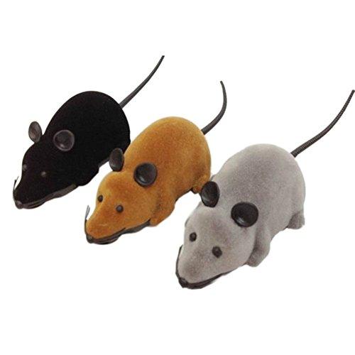 La Cabina Jouet Souris Télécommande RC Rat Pour Chat Chien Pet Jouet Nouveauté Cadeau (Couleur aléatoire)