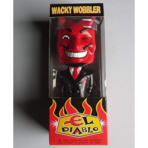 igur EL DIABLO Kostüm schwarz selten Devil Teufel Figur ()