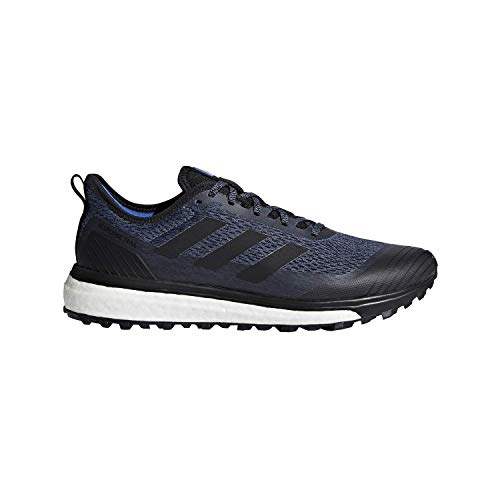 adidas Men's Response Trail Running Shoes Steel/Core Black/Hi Res Red 9 D(M) US - Response Trail-running-schuh