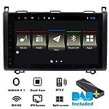 Autoradio Android 9 pollici per Mercedes Benz Sprinter B200 Classe B W245 B170 W169 autoradio DAB (bulit-in) 2 GB RAM 80 G ROM Quad-Core Car Indash DVD GPS Bluetooth USB