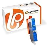 Bubprint Druckerpatrone kompatibel für HP 364XL 364 XL für DeskJet 3070A 3522 OfficeJet 4620 PhotoSmart 5525 6510 7520 e-All-in-One Plus B209A Cyan