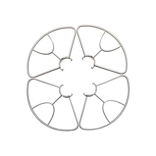 Yuneec Breeze - Protector de hélices (4 unidades) blanco
