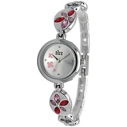 Fizz 5010552 Kids Silvered Strap Watch
