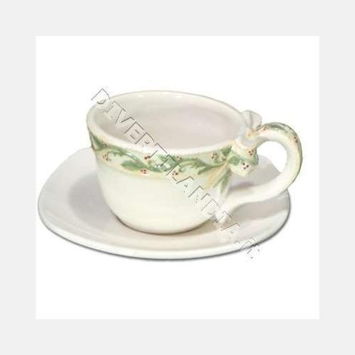 KIPITALIA S.R.L.., Tasse und Teller Keramik Holly -