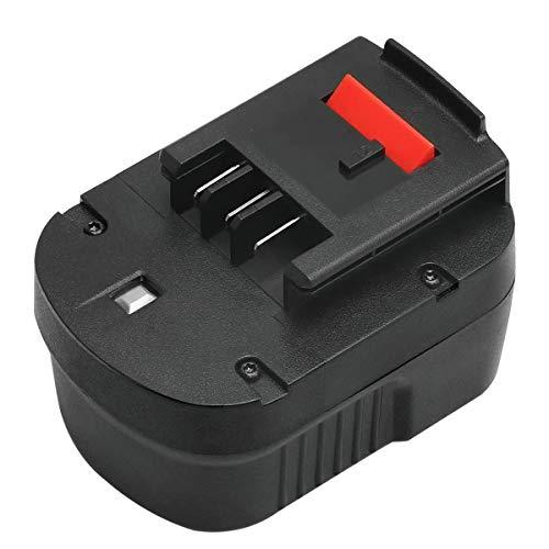 ADVNOVO 12V 3.5Ah NiMH Batterie de Rechange pour Black & Decker A12 HPB12 A12E A12-XJ A12EX FSB12 FS120B FS120BX A1712 B-8315 BD-1204L BD1204L BPT1047