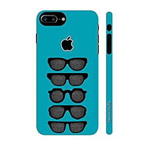 Enthopia Designer Hardshell Case Cool Spectacles Back Cover for Apple Iphone 7 Plus With Apple Hole