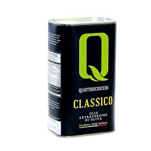 Olio extra vergine di oliva classico quattrociocchi (1 lt)