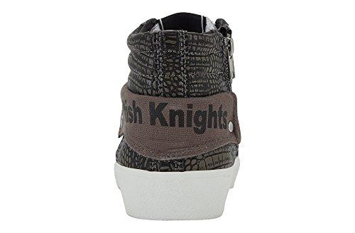 British Knights - Rigit, Scarpe da ginnastica Donna Grigio (Grau (Dk Grey/Grey 01))