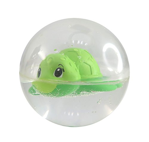Simba 104010034 - ABC Greif-und Badeball, Badewannenspielzeug, 8 cm