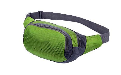 Multifunktionale Outdoor Fitness Sporttaschen Mehrfarbig Green2