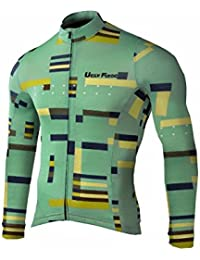 Uglyfrog HWLJ40 2018 Ciclismo Maillot Hombre Ropa Deportes y Aire Libre Manga Larga Winter with Fleece