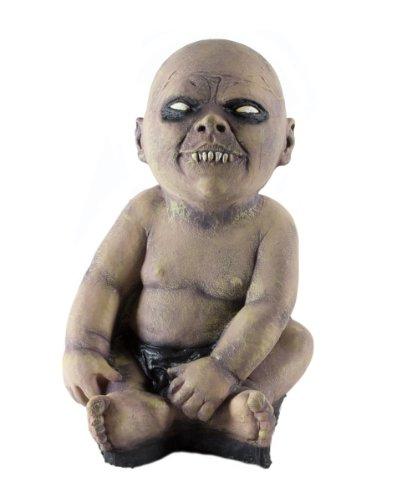 Zombie Baby Höllenbrut Profi Halloween Horror Figur Foam Latex Sensation wie echt atemberaubend Böse Deko in Geisterbahn Qualität Horror Look perfekt auch für ()
