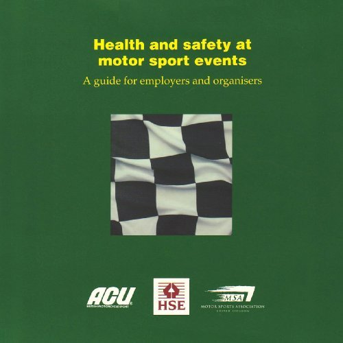 Health and Safety at Motor Sport Events (Guidance Booklets) by Health and Safety Executive (HSE) (1998-12-31) par Health and Safety Executive (HSE)
