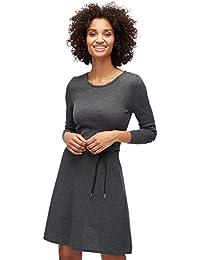 TOM TAILOR für Frauen Dress Strickkleid mit Gürtel