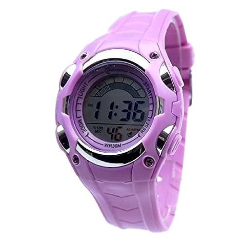 Montre Digitale Fille - Montre Watch Enfant Fille Digitale quartz Etanche