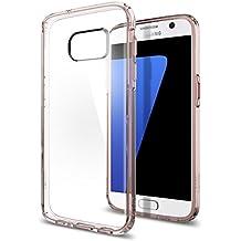 Funda Galaxy S7, SPIGEN® [Ultra Hybrid] Tecnología de cojín de aire y protección híbrida de caída para Samsung Galaxy S7 2016 - Crystal Rosa