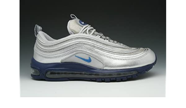 NIKE AIR MAX'97 TRAINERS £130.00 (7, Metallic Silver Italy