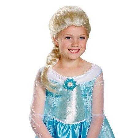Perücke Elsa Grund (Kinder) (Perücke Elsa Kind)