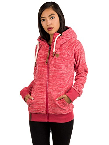 Naketano Female Zipped Jacket Gigi Meroni V rot (500)