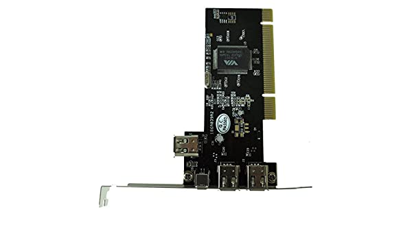 Nrpfell Carte PCI FIREWIRE 3+1 Ports IEEE 1394 4//6 PIN PR DV DC
