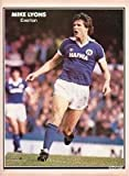 SHOOT football magazine Everton MIKE LYONS old retro soccer picture poster