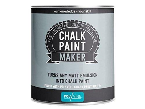 Polyvine Lack maker Kreide, 500 ml, verwandelt jede in matt emulsion, chalk