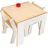 Little Helper - Mesa infantil con 2 sillas, color rosa