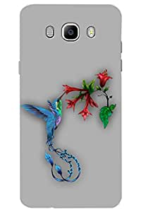 AMAN Humin Bird 3D Back Cover for Samsung Galaxy On8