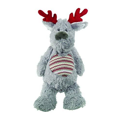 Rosewood Christmas Luxus Silber Plüsch Comet Charakter Spielzeug für Hunde