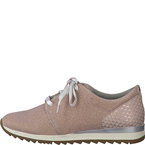 Donne Sneaker JANA è salito dal tessile di larghezza H di dimensioni da 37 a 41 Rosa