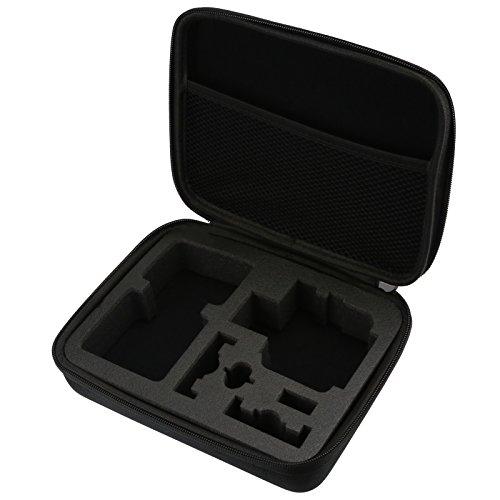SHOOT Custodia da viaggio Medio dimensioni di protezione bagagli per GoPro Hero 7 Nero Argento Bianca/6/5/4/3+/3/HERO(2018)/Fusion DBPOWER Apeman Campark WiMiUS YI CAMKONG fotocamera Accessori